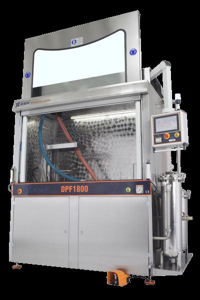 Máquina de limpieza de filtros de partículas y catalizadores